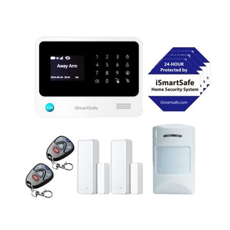 ismartsafe home security system basic package diy home