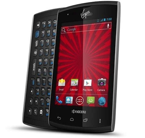 irgin mobile kyocera rise arrives on mobile with ics 3 5 inch