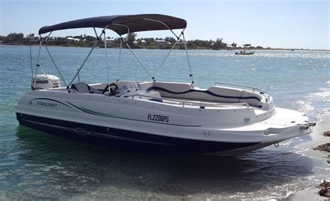 starcraft boats deck boat 20 starcraft limited deck boat