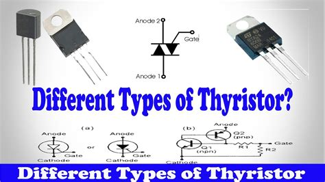 report on different types of diodes types of scr types of thyristor different types of thyristor