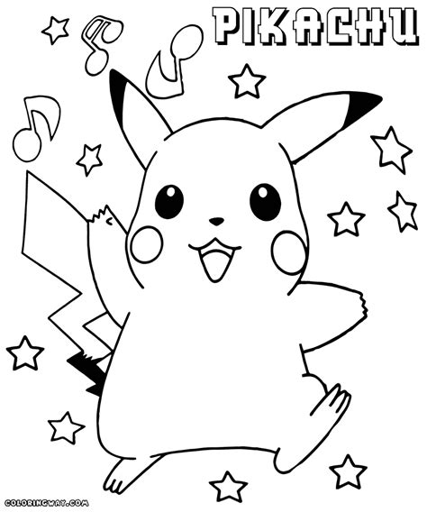 pikachu coloring pages pikachu coloring pages coloring pages to and print