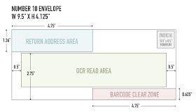 number envelope usps guidelines number envelope