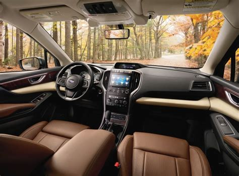 subaru outback touring interior i want the 2019 subaru ascent photos the wheel