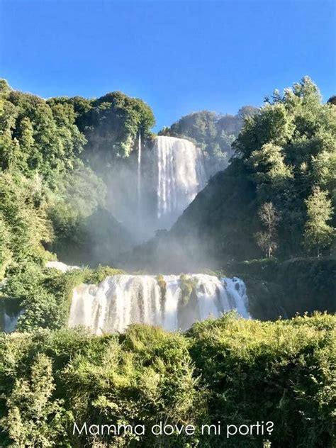 cascata delle marmore prezzo ingresso umbria con bambini lago di piediluco e cascata delle