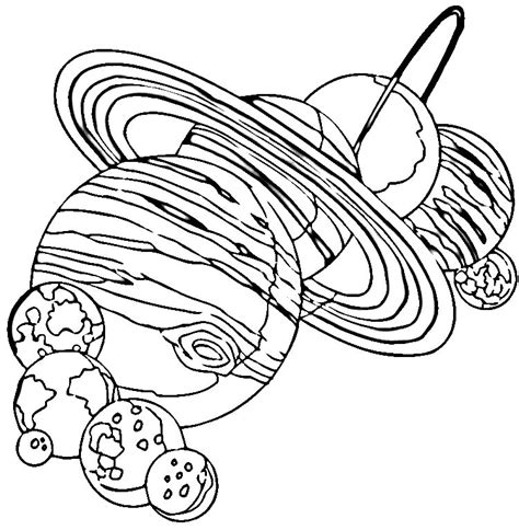 coloring page universe free coloring pages of universe solar system