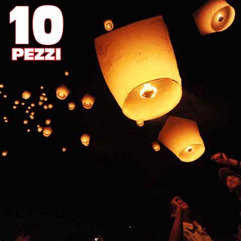 mongolfiera volante 10 pezzi mongolfiera volante lanterne cinesi per