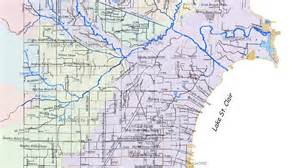 Southeast Michigan Map by Stormwater Southeast Michigan Red Run
