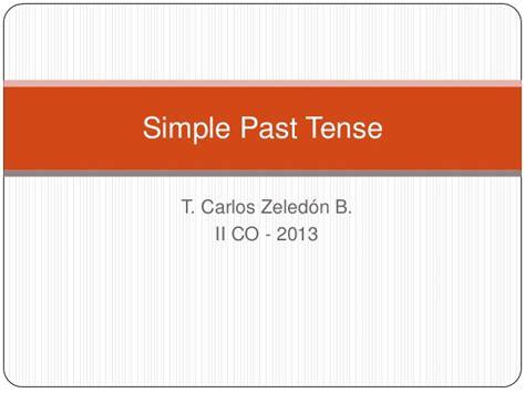 lesson plan 10 octavo past simple tense simple past