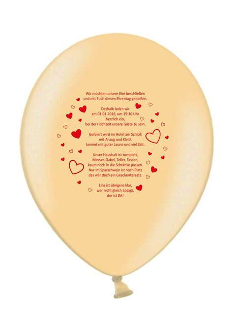 Einladung Hochzeit Apricot by Einladungsballons