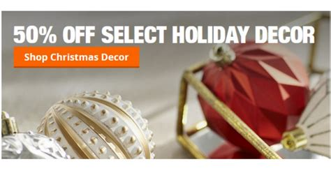 home depot christmas decorations are up to 50 off dwym home depot 50 off select christmas items southern savers