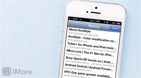 how to check safari history on iphone how to quickly access your browsing history in safari for iphone or imore