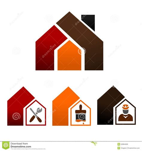 icons home decorating royalty free stock images image