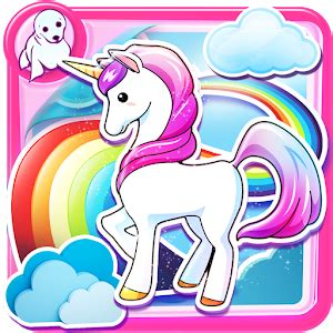 imagenes de unicornios brillantes fond d 233 cran licorne kawaii applications android sur