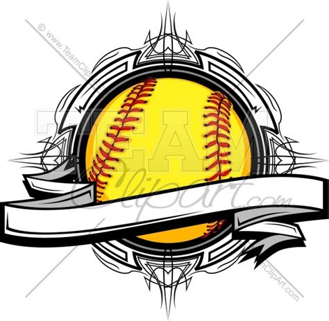 softball design templates softball templates clipart