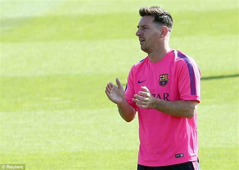 Model Rambut Messi by Lionel Messi Punya Gaya Rambut Baru Jiplakan Cristiano