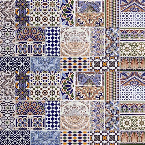 patchwork fliesen marokkanische patchwork fliesen bunt spanische mischung