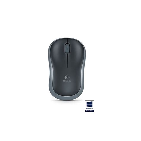 Logitech Wireless Mouse M185 Gray logitech m185 wireless mouse grey geewiz