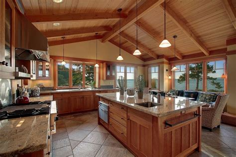 kitchen lighting for vaulted ceilings some vaulted ceiling lighting ideas to your home
