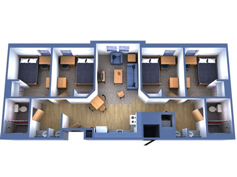 fau floor plan fau innovation village apartments north iva n