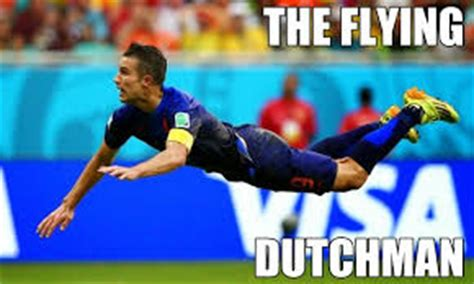 Van Persie Meme - world cup memes robin van persie diving header or la