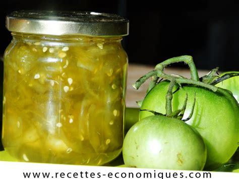 cuisiner des tomates vertes confiture de tomates vertes au thermomix recettes de