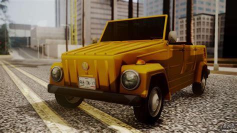 Volkswagen Safari by Volkswagen Safari Type 181 Para Gta San Andreas