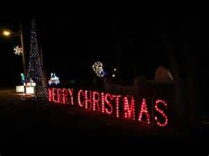 marion indiana lights city walkway of lights in marion indiana