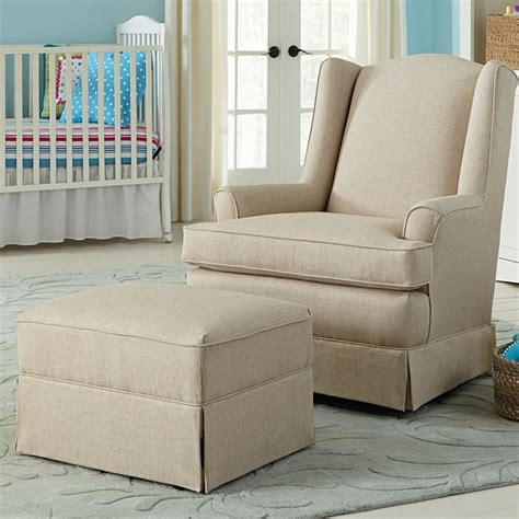 Baby Nursery Nursery Baby Room Design With Cozy Cream Swivel Glider Chair Nursery