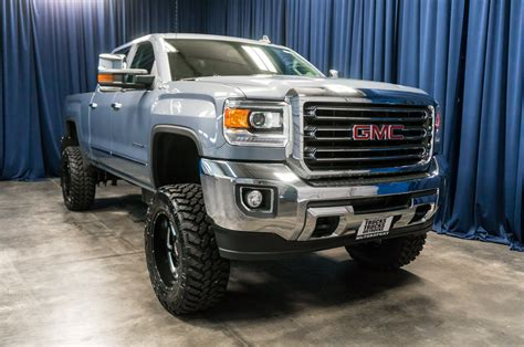 lifted gmc used lifted 2016 gmc 2500 hd slt 4x4 diesel truck