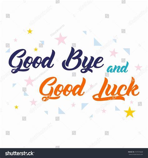 Farewell Card All Best Template Stock Vector 737975668 Shutterstock Farewell Presentation Template