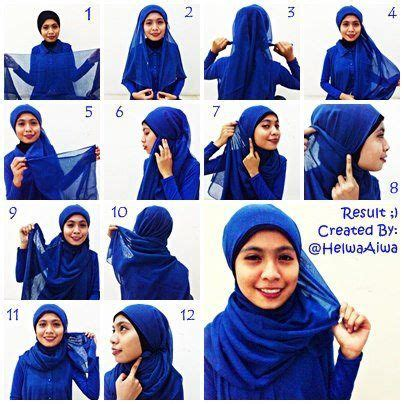 tutorial hijab segitiga 25 best ideas about tutorial hijab segitiga on pinterest