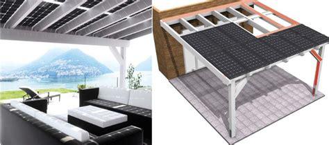veranda fotovoltaica pannelli fotovoltaici vetro vetro nuovo orizzonte