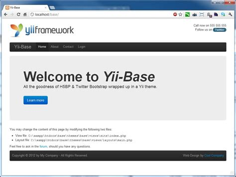 email extensions yii php framework yii base extensions yii php framework