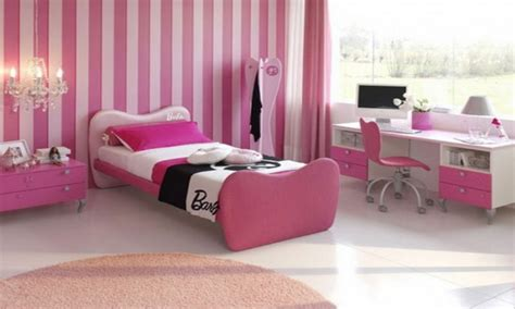 girls bedrooms wallpaper decorating ideas bedroom cool pink bedrooms