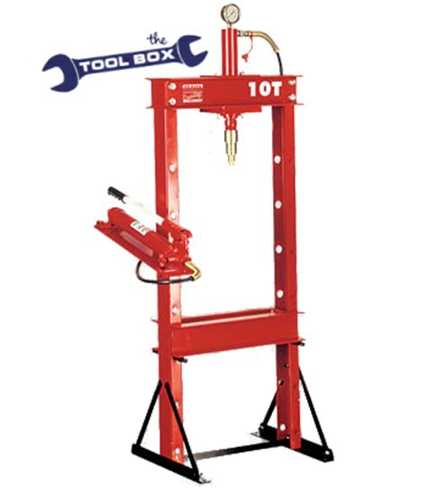 10 tonne hydraulic floor press hydraulic press 10 tonne the tool box suppliers of