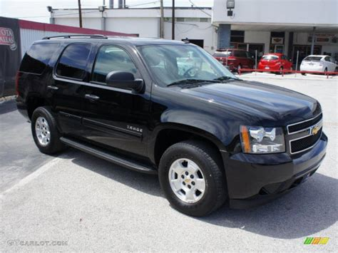 Outside Ls by Black 2009 Chevrolet Tahoe Ls Exterior Photo 47768646