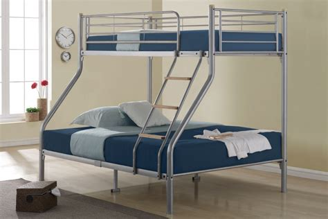 Bunk Bed With Guest Bed Everest 3ft Single Heavy Duty Solid Pine High Bunk Bed With Guest Bed Bunk Beds