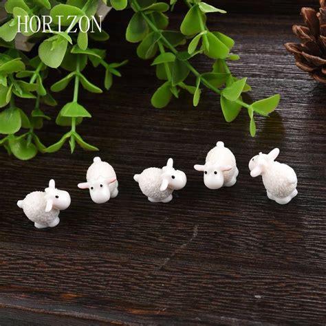 Garden Accessories Sale Uk by 5pcs Set Kawaii Mini Sheep Animals Home Micro