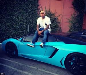 Bugatti Chris Brown Chris Brown Gives Royalty Mini Replicas Of His