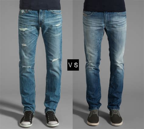 Celana Ripped Blue Washed distressed designer to
