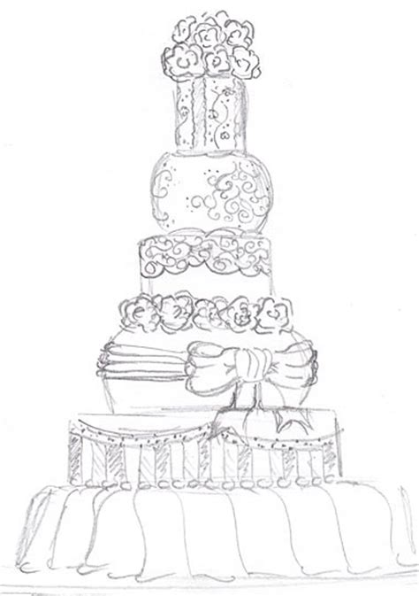 Hochzeitstorte Zeichnung by 1000 Images About Cake Sketches On The