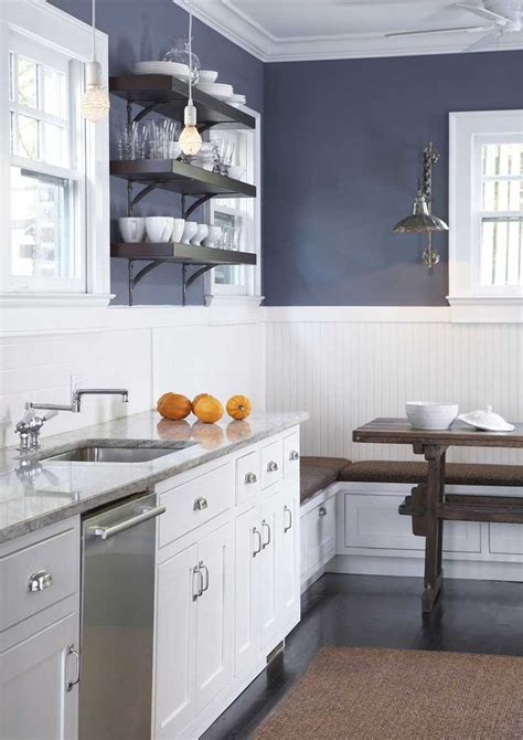 navy kitchen cabinets navy blue kitchen wall white cabinets have the white