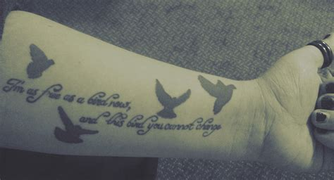 free bird tattoo free bird lyrics www pixshark images