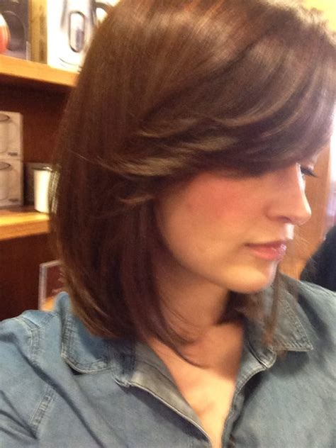 groupon haircut walnut creek a long bob haircut with side bangs by michelle yelp