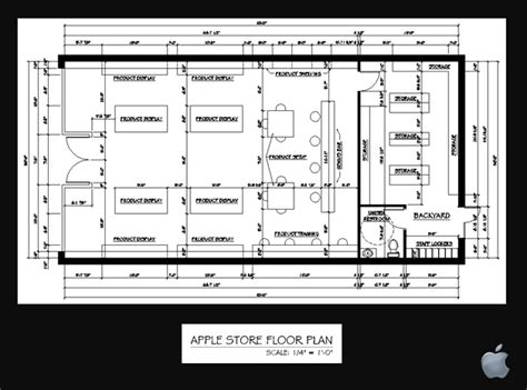 floor plan for mac apple store by jessica jankoviak at coroflot com