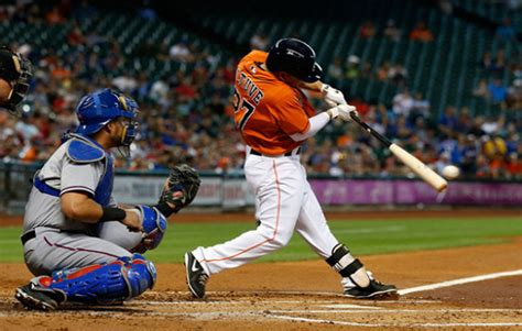 major league hitters swings altuve s outstanding season a product of yearlong adjustments