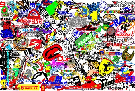Wallpaper Sticker 33 stickerbomb wallpapers wallpaper cave