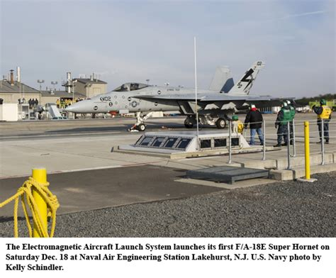 linear induction catapult navy launches aircraft using electromagnetic system