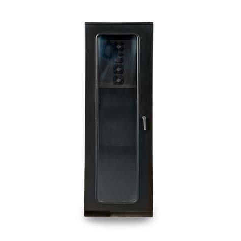 Electronic Equipment Cabinets by Protector Rack Series Air Conditioned Enclosure Front View