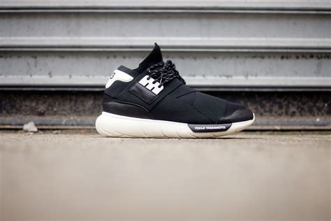 Premium Adidas Y3 Qasa High Black White 1 adidas y 3 qasa high black white sole collector